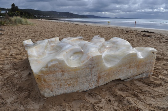 LORNE SCULPTURE BIENNALE  geo geo crystal by mark stoner