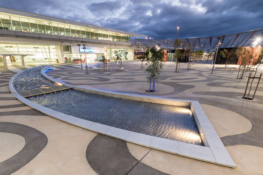 WATERCOURSE at Adelaide International Airport.